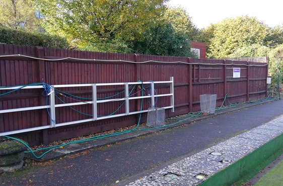 JohnWatson Painted Fence