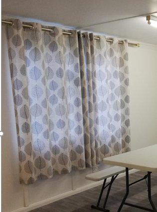 New Curtains for window and Patio Doors